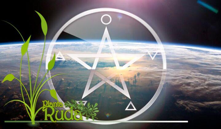 Pentagrama Wicca / Los elemento en el Pentáculo